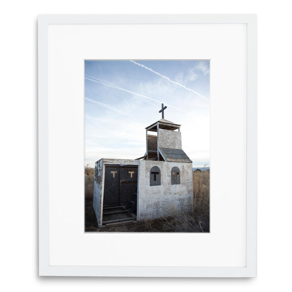 Jessie Chaney Prints - Abandoned Chapel