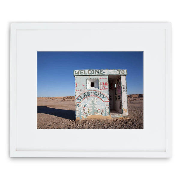 Jessie Chaney Prints - Welcome to Slab City
