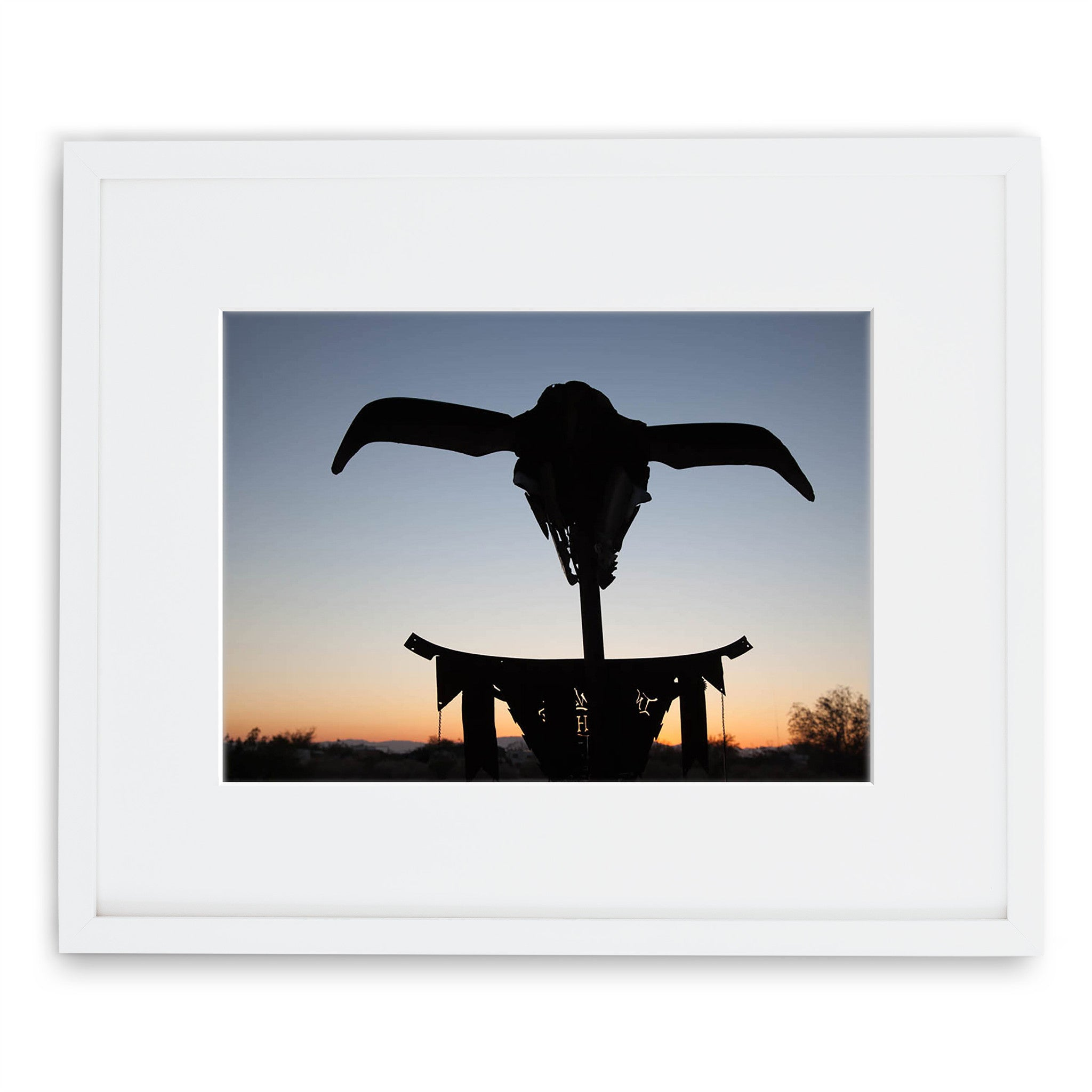 Jessie Chaney Prints - Sunset Skull