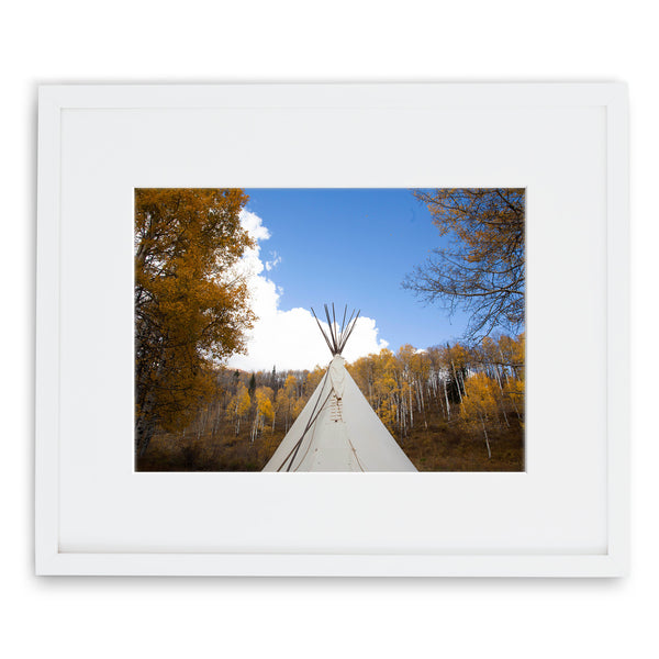 Jessie Chaney Prints - Teepee