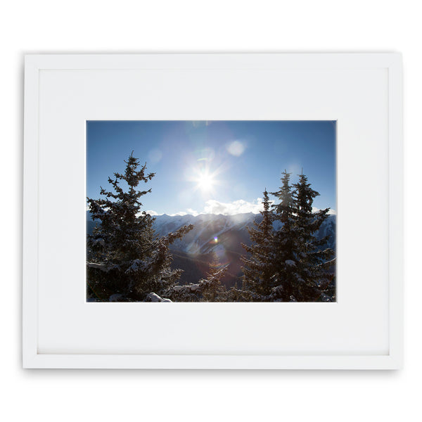 Jessie Chaney Prints - Winter Light Beams