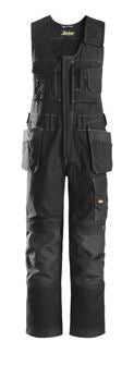 Snickers, 0214 Craftsmen One-Piece Holster Pocket Trousers, Canvas+ (Black 0404)