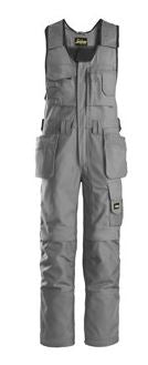 Snickers, 0214 Craftsmen One-Piece Holster Pocket Trousers, Canvas+ (Grey 1818)