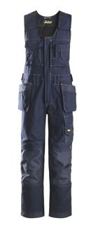 Snickers, 0214 Craftsmen One-Piece Holster Pocket Trousers, Canvas+ (Navy 9595)