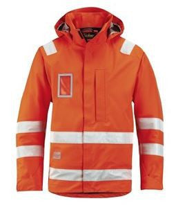 Snickers 1973 High-Vis Waterproof Jacket, Class 3