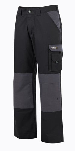 Dassy® Boston Two-Tone Trousers with Knee Pockets 300 g/m2 (200426)