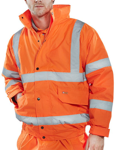 Hi Visibility Constructor Bomber