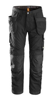 Snickers,  6201 AllroundWork Holster Pocket, Work Trousers (Black 0404)