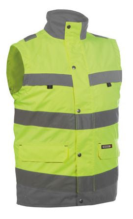 DASSY® BILBAO HIGH VISIBILITY BODY WARMER