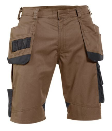 DASSY® Bionic Two-tone work shorts with multi-pockets (Clay Brown/Anthracite Grey) *NEW*