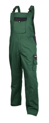 Dassy® Calais Two-Tone Brace Overall (Green/Black)