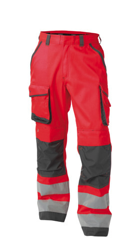 DASSY® CHICAGO HIGH VISIBILITY WORK TROUSERS WITH KNEE POCKETS [Additional Colours]