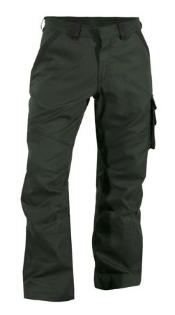 Dassy® Stark Canvas Work Trousers (Moss Green/Black)