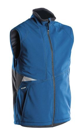 Dassy® Fusion Two-Tone Body Warmer (Azure Blue/Anthracite Grey)