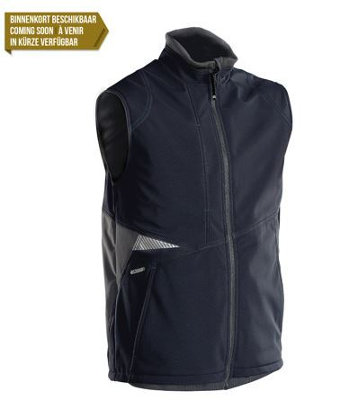 Dassy® Fusion Two-Tone Body Warmer (Midnight Blue/Anthracite Grey)