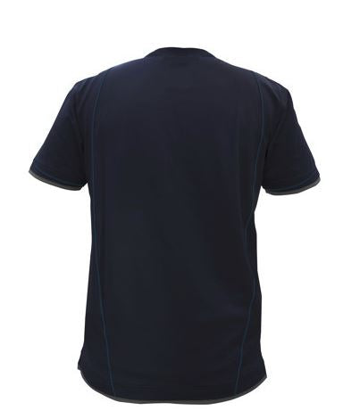 4831e6ea DASSY® Kinetic Two-tone T-shirt *NEW* (Midnight Blue/Anthracite Grey ...