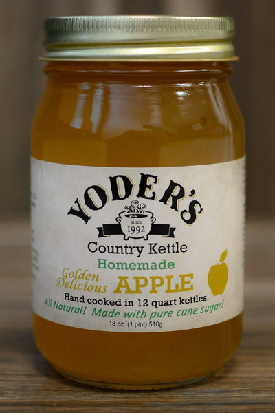 Yoder's Golden Delicious Apple Jam