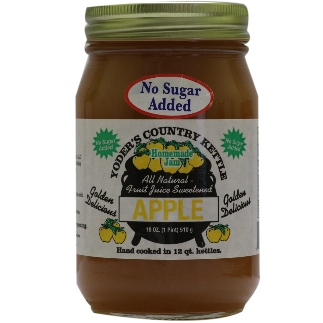 Yoder's Golden Delicious Apple Jam ( No Sugar Added )