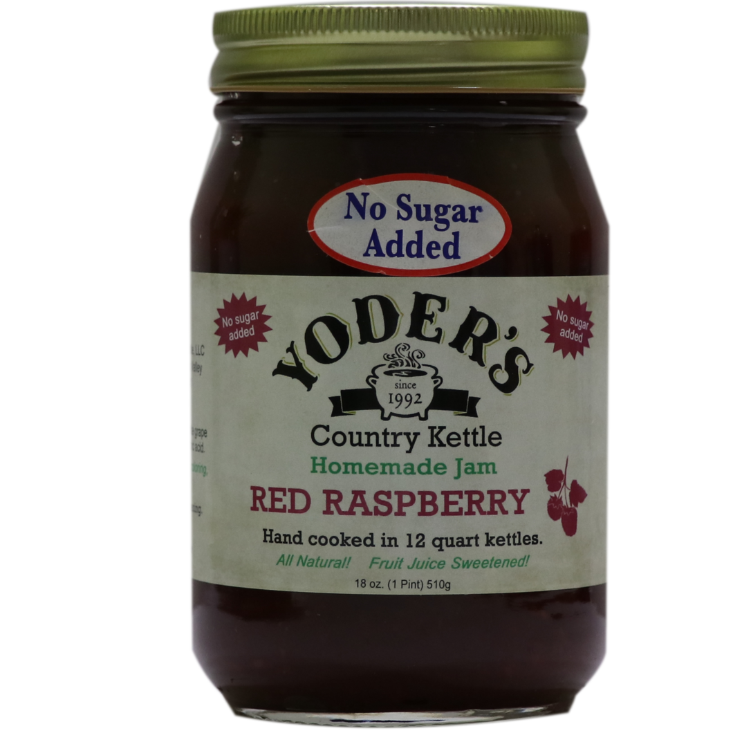 Yoder's Red Raspberry Jam ( No Sugar Added )