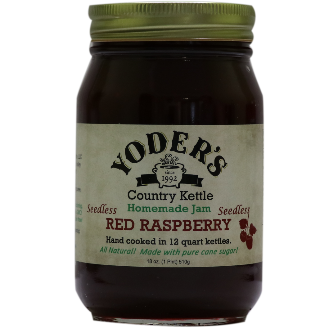 Yoder's Red Raspberry Jam ( Seedless )