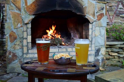 Summer Brews, Peanuts, & Fire