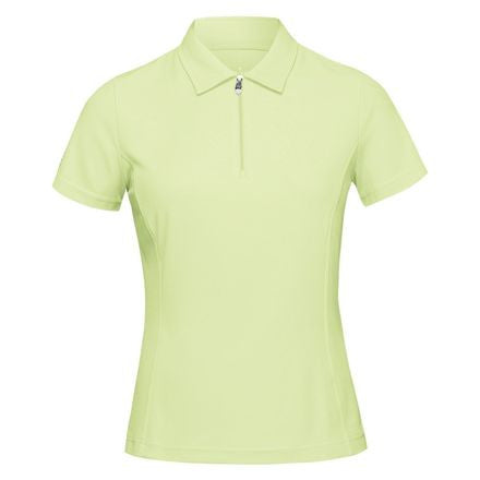 Nivo Short Sleeve Essential Polo - Lime Green | UPF 40