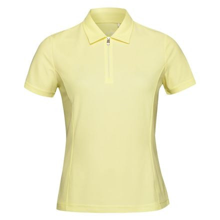 Nivo Short Sleeve Essential Polo - Limelight Yellow | UPF 40