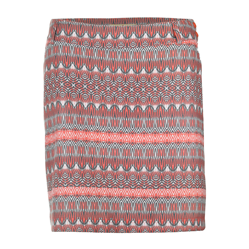 "Sport Haley Vanessa Print 18"" Skirt with Front Pockets and Liner"