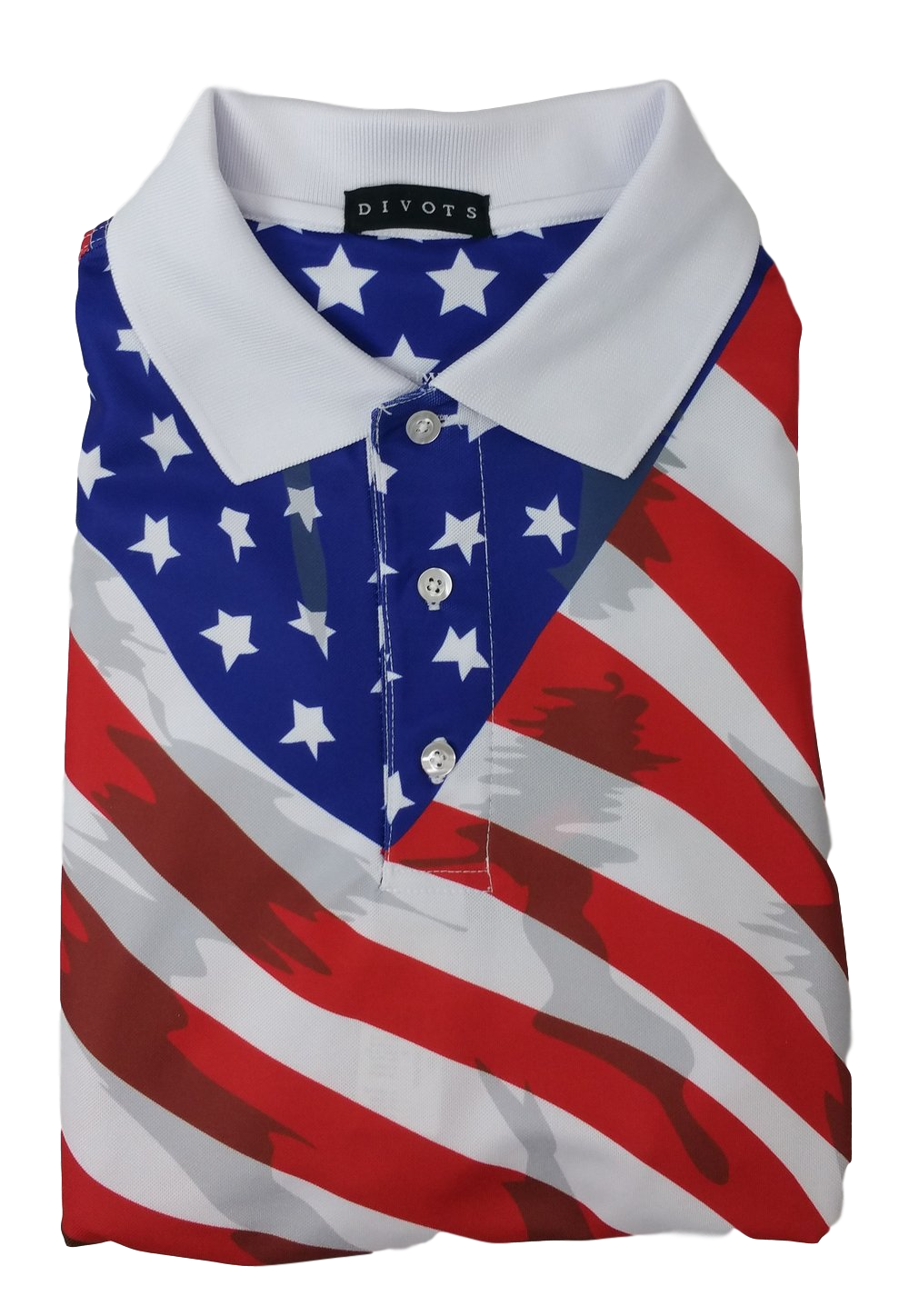 American Flag Polo | Peanuts and Golf