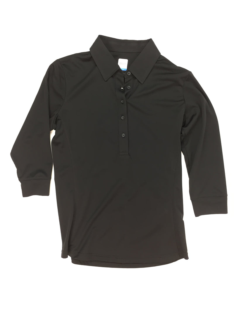 AUR Black 3/4 Sleeve Shirt