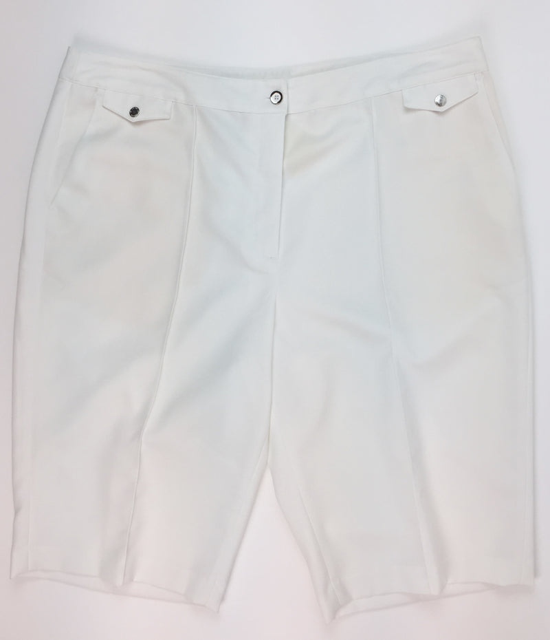 EP Pro White Golf Short