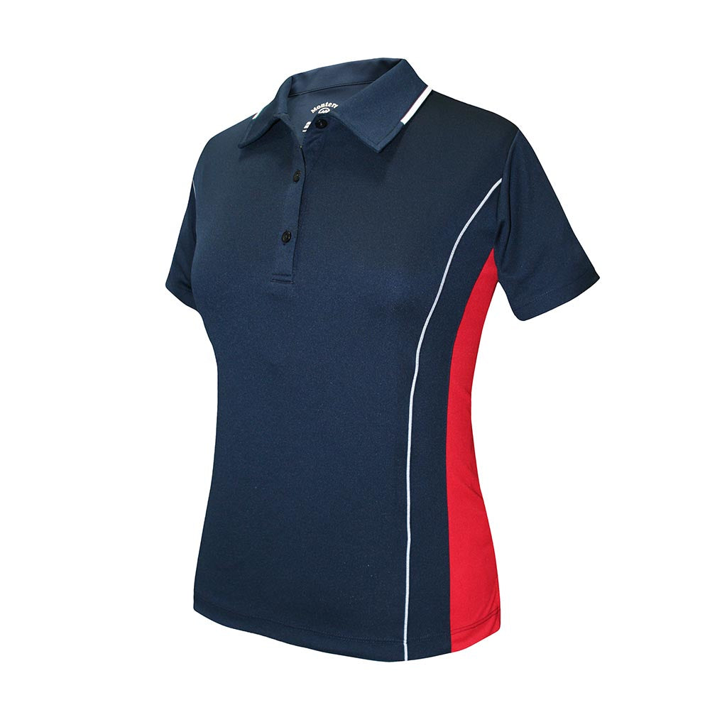 Monterey Club Ladies' Dry Swing Colorblock Colorblock Shirt #2192