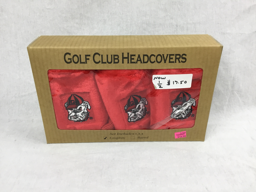 Georgia State Golf Headcover Gift Set