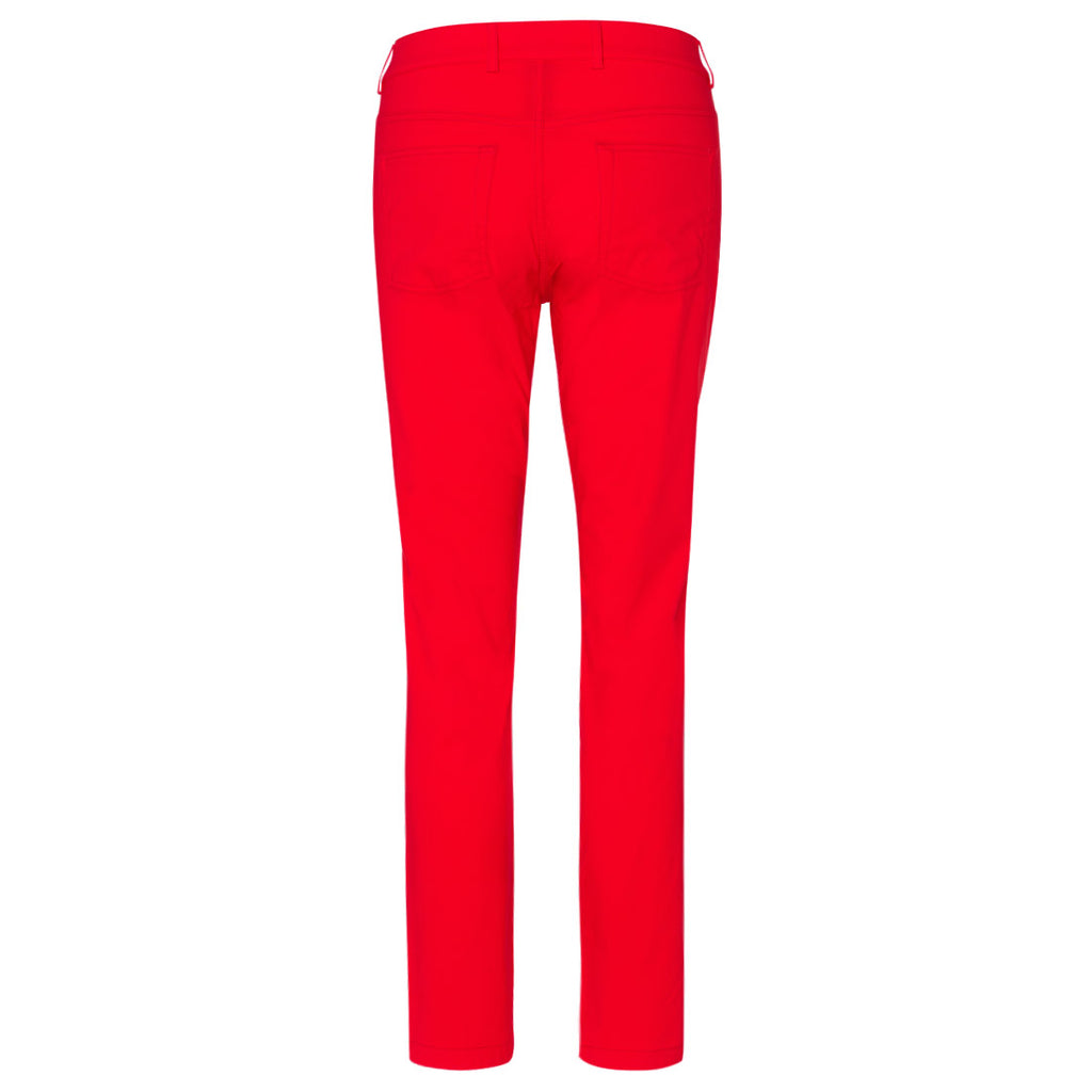 Golfino Water-Repellent Techno Stretch Ankle Pant - Red