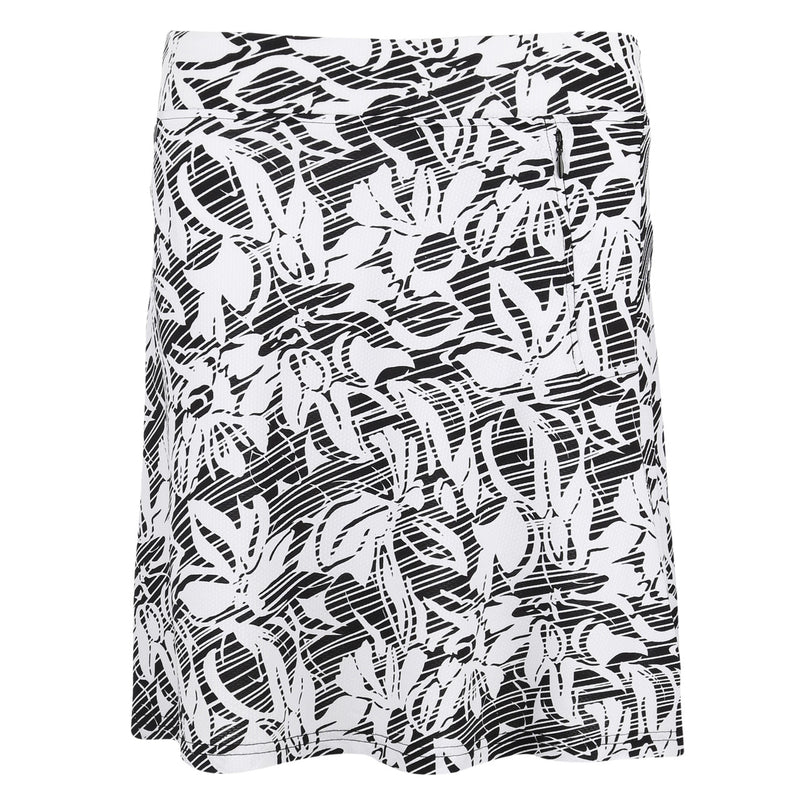 "Sport Haley Charlotte ""Haley Cool"" Print Pull On Jersey Skirt With Flare"