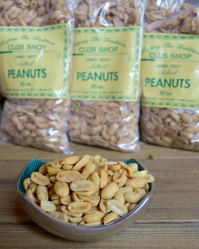 Club Shop Peanuts and Golf Jumbo Select Peanuts from Virginia