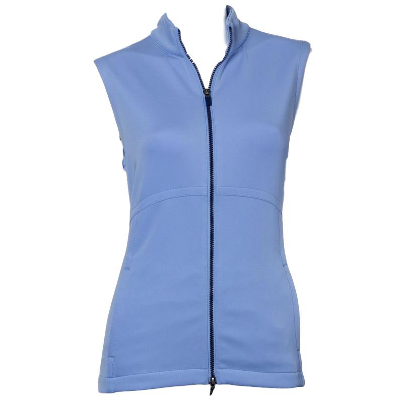 EP NY Curved Seam Invert Pleat Vest - SPF 50