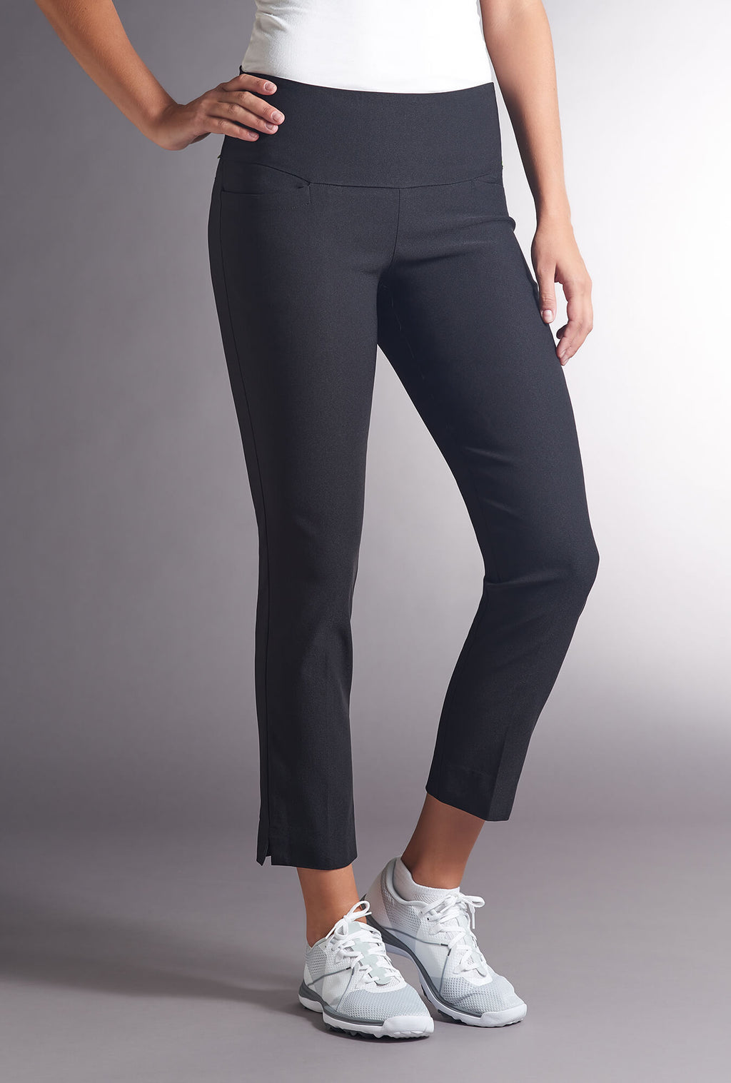 Swing Control Black Masters Ankle Pant