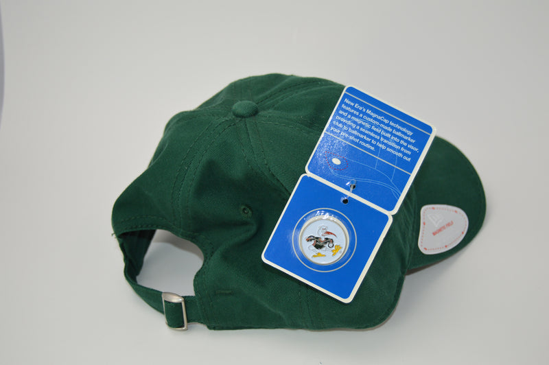 University of Miami Hurricanes New Era Adjustable Golf Hat with Ball Marker