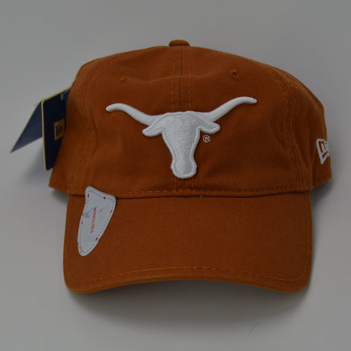 Texas Longhorns New Era Adjustable Golf Hat with Ball Marker - Orange
