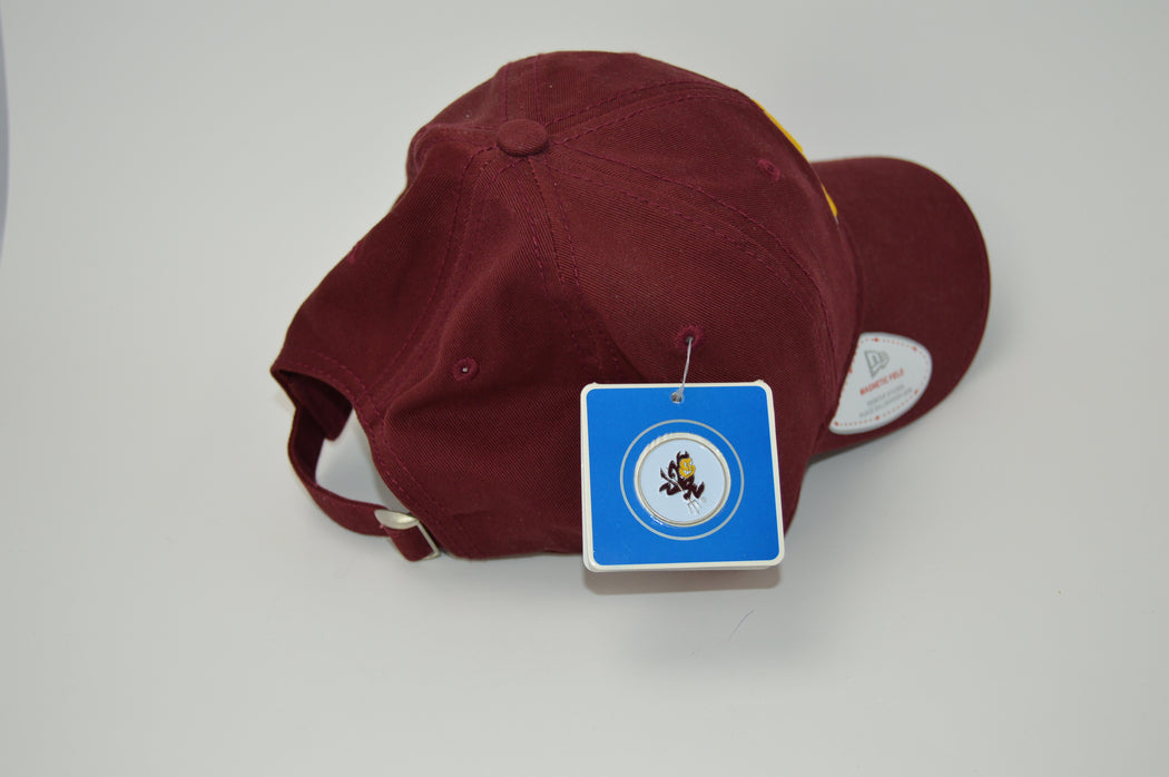 Arizona State New Era Adjustable Golf Hat with Ball Marker