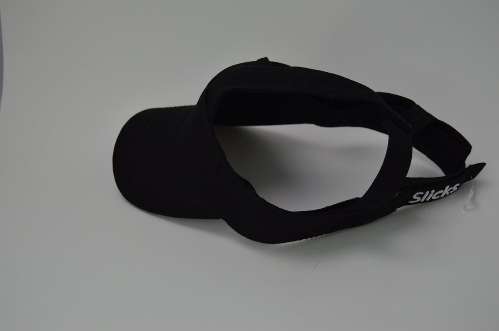 Slicks Adjustable Golf Visor