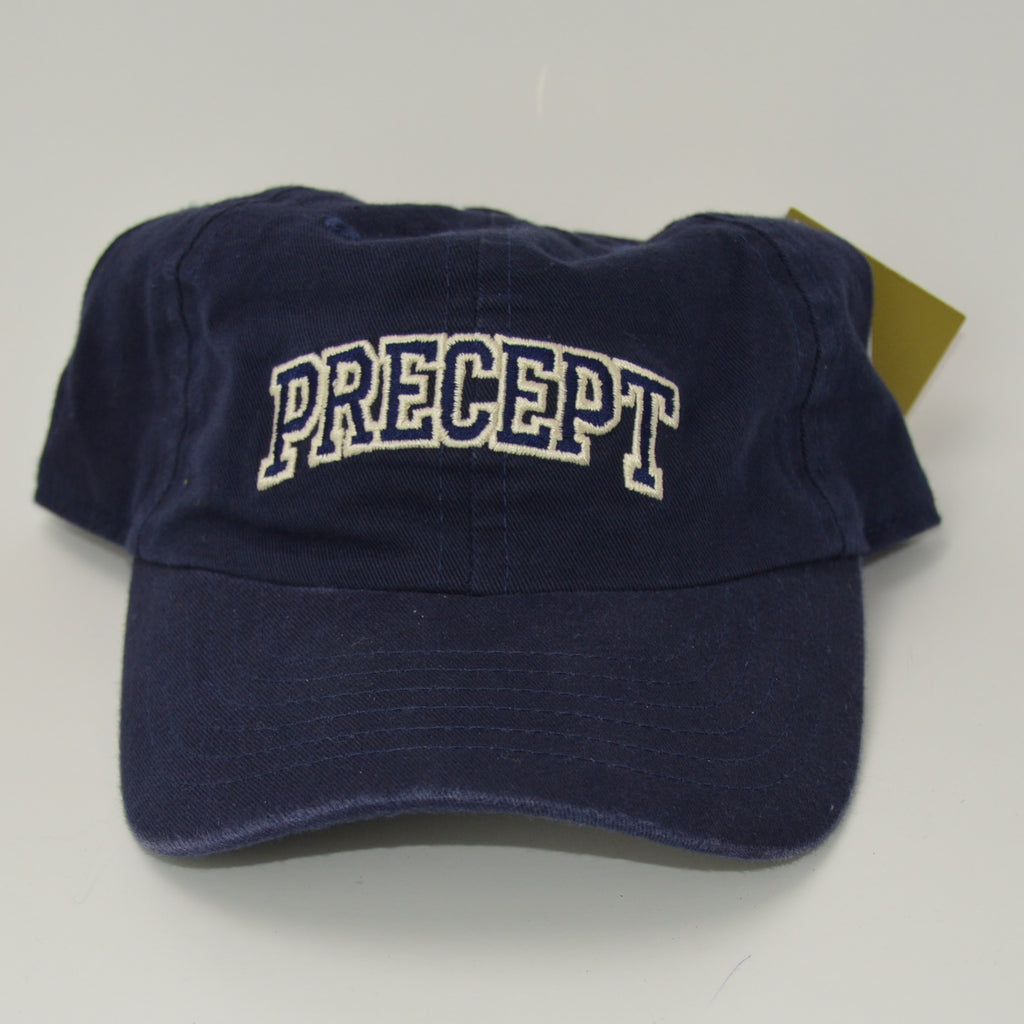 Precept Adjustable Golf Hat - Navy Blue
