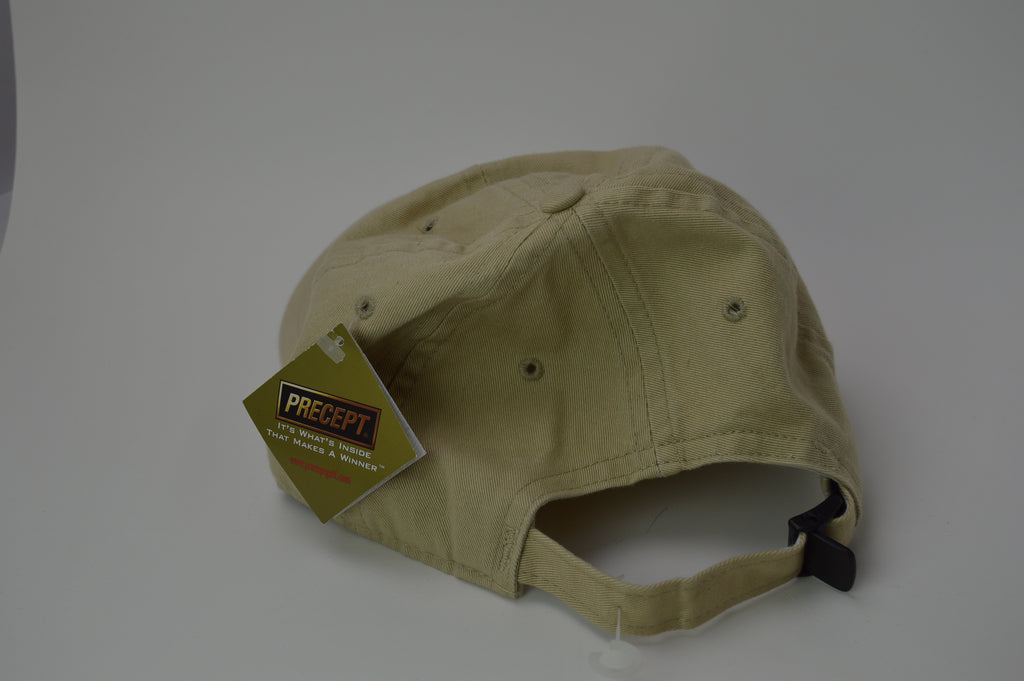 Precept Adjustable Golf Hat - Khaki