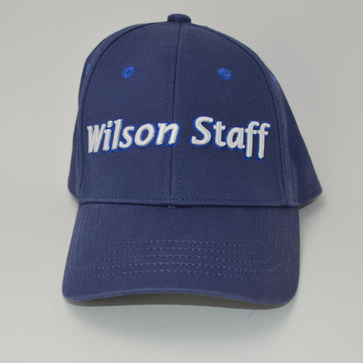 Wilson Staff Adjustable Golf Hat - Blue