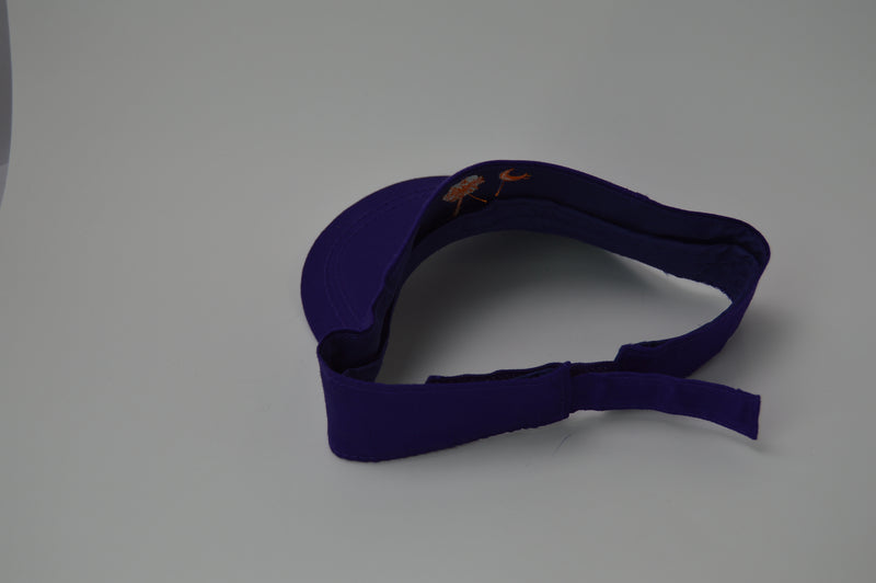 South Carolina Purple and Orange Adjustable Visor