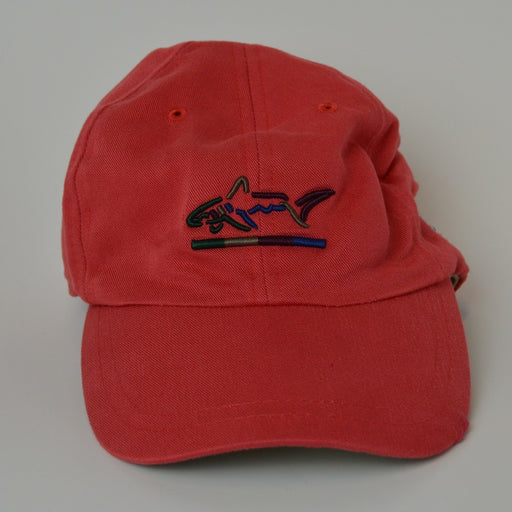 Greg Norman American Flag Adjustable Golf Hat - Red