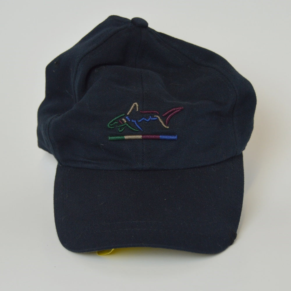 Greg Norman American Flag Adjustable Golf Hat - Navy Blue