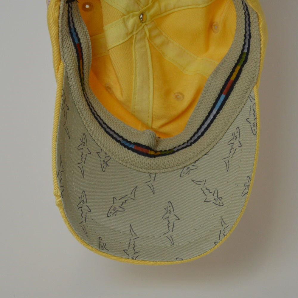 Greg Norman American Flag Adjustable Golf Hat - Yellow