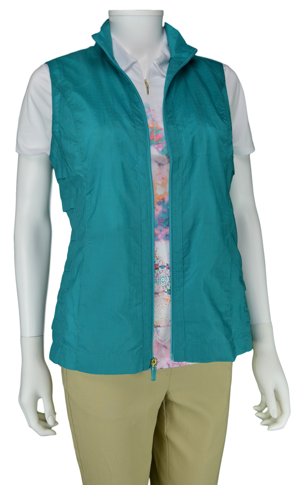 EP Pro Cassis Water Resistant Vest in Aqua Crush